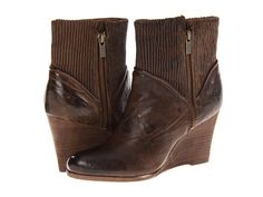 Frye Corby Side Zip Taupe Antique Soft Full Grain - 6pm.com