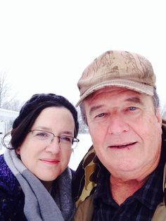 Winter selfie at Turkey Hill!