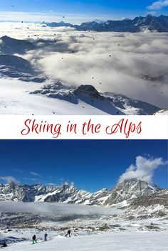 Is there anything more bucket list worthy than skiing in the Alps? Click to learn more about spending a weekend at the Matterhorn Ski Paradise, between Zermatt, Switzerland and Cervinia, Italy.