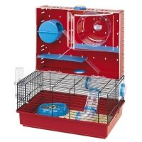 Makes me want to get a hamster It's too cool Ferplast Olimpia Syrian Russian Hamster Cage 579225 Hamster Shop, Hamster Life, Hamster Cages, Hamster House, Hamster Stuff, Russian Dwarf Hamster, Small Pet Supplies, Cute Birds, Rodents