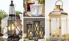 Pottery Barn Inspired Lantern from $5 ReStore Light Fixture