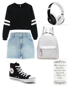 """""""Daydreamer~"""" by niaskbaker on Polyvore featuring Beats by Dr. Dre and Converse"""