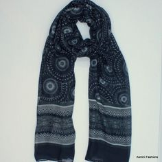 Outer Space Mandala Scarf