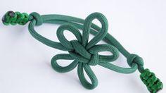 How to Make a Fleur-De-Lis Paracord/Macrame Friendship Bracelet- Knot by...