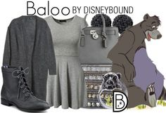 Disney Bound: Baloo from Disney's Jungle Book