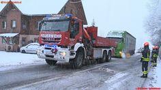 BFV Liezen: Dauereinsatz durch Wintereinbruch #iveco #truck #firetruck #snow #schnee #winter #axel