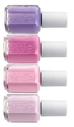 Beautiful essie colors for spring! http://rstyle.me/n/fg5ranyg6