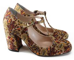 DOLLY  http://www.louloux.com.br/   #paisley #seventies #shoes #louloux #style #alternativefashion