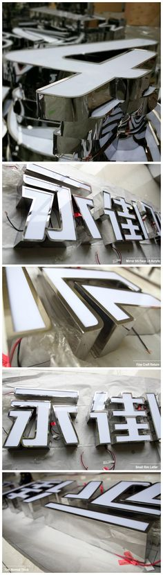 Dot Acrylic Illuminated Channel Letter Sign