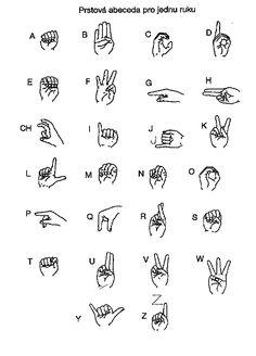 Deaf People, Sign Language, Writing, Signs, Math, House Warming, Crafts, Alphabet, Manualidades