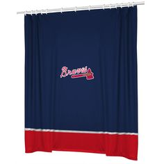 Make your Atlanta Braves MLB team themed Bathroom match your team Bedroom with this Atlanta Braves Shower Curtain! Baseball team shower curtains are made from our popular jersey mesh for a look and feel of an authentic MLB jersey.
