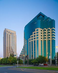 West America Bank Building in downtown Sacramento, California by Anthony Dunn