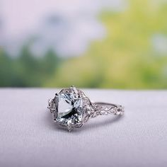 Details about  /925 Sterling Silver Cushion Cut Halo CZ Engagement Wedding Ring Set Sizes 4-12
