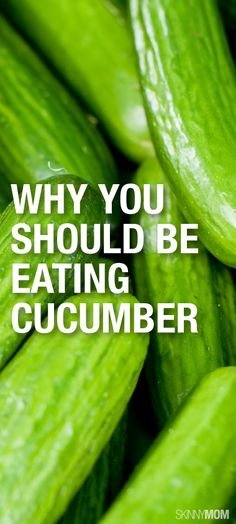 Here's why you need to be eating more cucumber!
