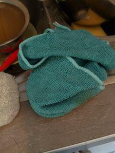 Dirty dishcloth