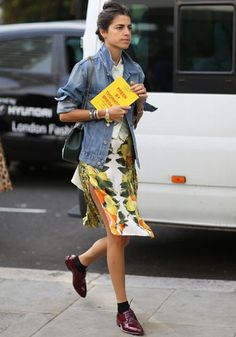 Leandra Medine. Chic #streetstyle I've picked all my favourite street style looks from fashion week - check out my post on irislillian.com xx