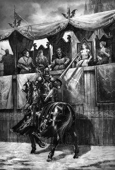 """ "" A Game of Thrones: The Illustrated Edition || Rhaegar, that fuckboy"