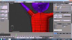 Blender 2.6 Tutorial 22 - Cloth Pt 3 / 3  (T-Shirt)