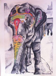 """""""Indian Elephant"""""""