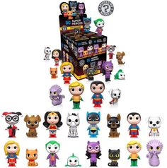 DC Super Hero and Pets - Funko Mystery Minis - November
