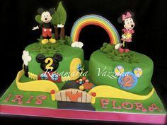 For two little twins who love mickey and minnie mouse.