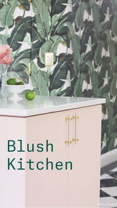 Rhyming Names, Kitchen Tile, Parisian Style, Blush Pink, Kitchens, Vintage Fashion, Diy Projects, Goals, Bath