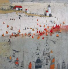 """Discover even more details on """"contemporary abstract art v"""". Visit our internet site. Abstract Landscape Painting, Abstract Painters, Landscape Art, Landscape Paintings, Boat Art, Contemporary Abstract Art, Illustrations, Unique Art, Fine Art"""