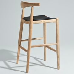 Hans Wegner Elbow Bar / Counter Stool