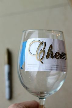 DIY Wine Glasses using Sharpies! | Fabtastic Eats