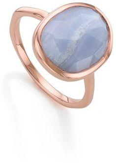 PIN ➕ INSTA: @sophiekateloves ✔️ MONICA VINADER 'Siren' Medium Semiprecious Stone Stacking Ring