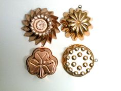 10 Piece Instant Collection Copper Jello by UncommonRecycables, $52.00