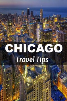 Chicago is by far my fav city & always more to see each time.Excellent Chicago travel tips. The author nailed it with the Signature Room recommendation! Oh The Places You'll Go, Places To Travel, Travel Destinations, Places To Visit, Chicago Vacation, Chicago Travel, Chicago Trip, Visit Chicago, Lake Michigan
