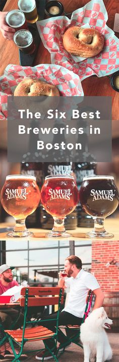 Six Best Breweries in Boston, Massachusetts! Whether you're on the trek to find your next favorite sour, stout, or pale ale, you can certainly find it in one of the many awesome breweries around Beantown. Boston Vacation, Need A Vacation, Vacation Ideas, Vacation Spots, Boston Brewery, Boston Nightlife, Boston Travel Guide, New England Travel, In Boston