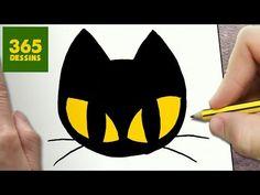 COMMENT DESSINER FANTÔME KAWAII ÉTAPE PAR ÉTAPE – Dessins kawaii facile - YouTube Kawaii Halloween, Chat Halloween, Chat Kawaii, Cute Kawaii Drawings, Simple Doodles, Cat Logo, Step By Step Drawing, Lilo And Stitch, Rock Art