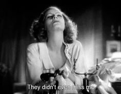 """Greta Garbo: They didn't even miss me... I still hear her enchanting voice saying it....<3 in """"Grand Hotel"""" (1932) - One of my favorite films!!!"""