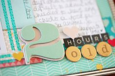Thoughts on scrapbooking my birth story @ shimelle.com
