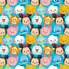 Disney Tsum Tsum | disney, mickey and minnie