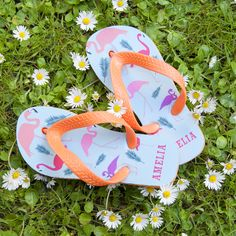 17becabc3c06 These fun and vibrant flip flops are perfect for little feet