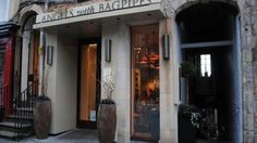 Angels With Bagpipes restaurant. 343 High Street, Royal Mile, Old Town, Edinburgh. As you would expect from a member of the family that gave Edinburgh the Valvona & Crolla delicatessen, the menu is modern Scottish but with a strong Italian influence.