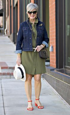 Shirtdress Season | Styleatcertainage