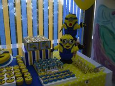 Despicable Me / Minions Birthday Party Ideas | Photo 4 of 27