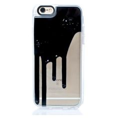 Blaq Drip iPhone 6+/6S+ Case (€36) ❤ liked on Polyvore featuring accessories, tech accessories, phone cases, phone, cases and electronics