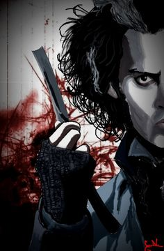 sweeny todd- the demon barbor of fleet street. Estilo Tim Burton, Tim Burton Art, Tim Burton Films, Tim Burton Johnny Depp, Tim Burton Characters, Johnny Depp Movies, Fleet Street, Edward Scissorhands, Fantasy Films