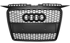 2006 2007 2008 SUPER RARE AUDi A3 MESH SPORT Front Grill Grille + BLK BADGE 8P