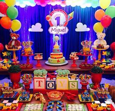 Festa tema brinquedo