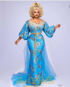 Aso ebi styles latest aso ebi styles - aso ebi styles 10 - Latest Aso Ebi Styles – 40 African Clothing Aso ebi Styles for Ladies: Trendy Lace Designs 2020 African Lace Styles, African Lace Dresses, Latest African Fashion Dresses, African Dresses For Women, African Print Fashion, African Attire, Ankara Fashion, Ankara Styles, African Outfits