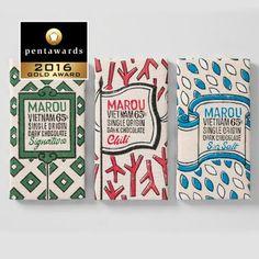 Tablettes de chocolat en édition limitée / 25 emballages alimentaires primés aux Pentawards 2016 / Photothèque - Process Alimentaire, le magazine de l'industrie agroalimentaire