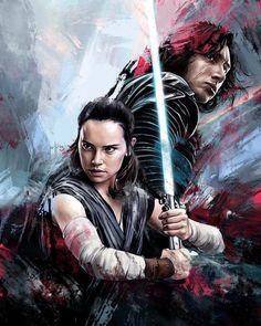The Last Jedi by Dmitry Belov @dmtry.belov