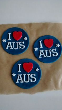 Discover recipes, home ideas, style inspiration and other ideas to try. Royal Icing Cookies, Sugar Cookies, Cupcake Toppers, Cupcake Ideas, Cookie Ideas, Dessert Ideas, Aussie Food, Australia Day, Fondant Cupcakes