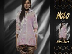 SCLASSY - Holo Parka - The Sims 4 Download - SimsDom RU
